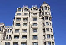 Apartment Building In City Stock Photo