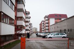 Apartment building complex Royalty Free Stock Photography