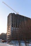 apartment building const under Στοκ εικόνα με δικαίωμα ελεύθερης χρήσης