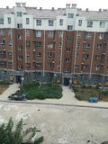 apartment building const under Στοκ φωτογραφία με δικαίωμα ελεύθερης χρήσης