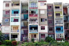 Apartment building in Cuba editorial photo. Image of cuba - 112783391