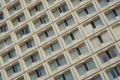 Apartment building detail Stock Photography