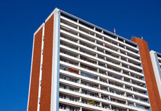 Apartment building in East Berlin Royalty Free Stock Image