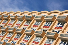 Apartment building in England Stock Photography