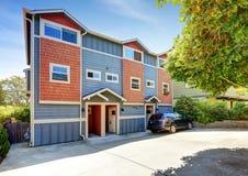 Apartment building exterior. Stock Photography