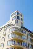 Apartment building exterior stock photography