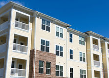 Apartment building exterior Royalty Free Stock Photo
