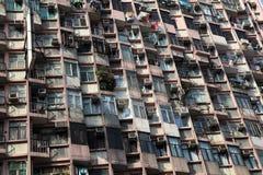 Apartment building facade Stock Photos