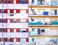 Apartment Building Facade Stock Image