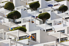 Apartment building, Grand Canary Stock Photography