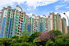 Apartment building in Guangzhou. Photo of a apartment building in Guangzhou,China Royalty Free Stock Image