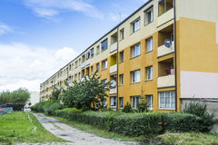 Apartment building Hel Poland Stock Photo