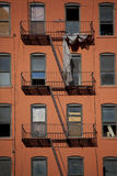 Apartment Building, Hell's Kitchen Stock Image