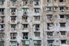 Apartment building in Ho Chi Minh Stock Photos