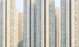 Apartment building. Hong Kong. China. Stock Photography