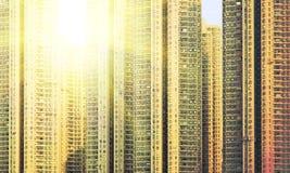 Apartment building. Hong Kong. China. Stock Image