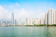 Apartment building. Hong Kong. China. Royalty Free Stock Photos
