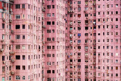 Apartment Building in Hong Kong. Stock Images