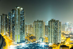 Apartment building in Hong Kong Royalty Free Stock Image