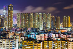 Apartment building in Kowloon Royalty Free Stock Photography