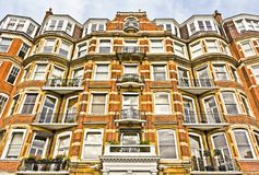 Apartment Building in London Stock Photo