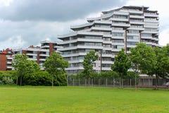 Apartment building. Luxury apartment building in Helsingborg, Sweden Stock Images