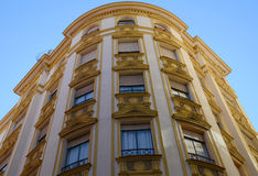 Apartment building in Malaga Royalty Free Stock Photos