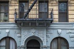 Apartment building, Manhattah, New York City Royalty Free Stock Photos