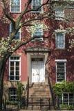 Apartment building, Manhattan, New York City Royalty Free Stock Photo