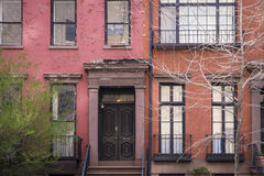 Apartment building, Manhattan, New York City Stock Images