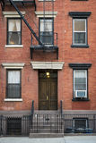 Apartment building, Manhattan, New York City Stock Photo