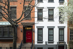 Apartment building, Manhattan, New York City Stock Image