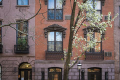Apartment building, Manhattan, New York City Stock Photography