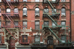 Apartment building, Manhattan, New York City Stock Image