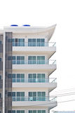Apartment building - a modern building Stock Images