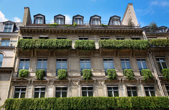 Apartment building in Paris Stock Images