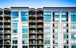 Apartment building in Philadelphia, Pennsylvania. Royalty Free Stock Photos