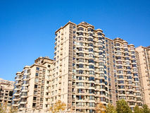 Apartment building. Photo of a apartment building in CHINA Stock Photography