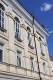 Apartment building. Photo of a apartment building in Vilnius Stock Photos