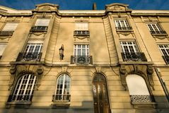 Apartment Building, Reims, France Stock Images