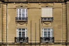 Apartment Building, Reims, France Royalty Free Stock Images