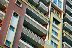 Apartment. Building for residential and commercial lease Royalty Free Stock Images