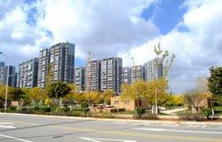 Apartment building. Residential building in Hongkong , China Royalty Free Stock Photo
