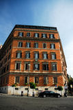 Apartment building in Rome Royalty Free Stock Image