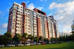 Apartment building in shanghai Royalty Free Stock Photography