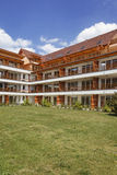 Apartment building in Slovenia. Apartment building near Vivat thermal SPA center Royalty Free Stock Photos