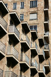 Apartment building in Spain Stock Photography