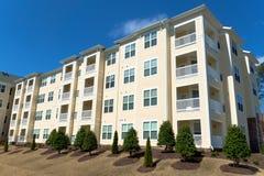 Apartment building. Typical suburban apartment building exterior Stock Image