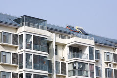 Apartment Building - Urban Living Royalty Free Stock Image
