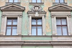 Apartment building in Vienna Royalty Free Stock Image